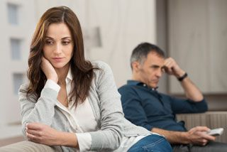 Husband and Wife Not Speaking to Each Other